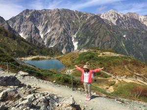 はじめての登山。八方池に行きました~!!